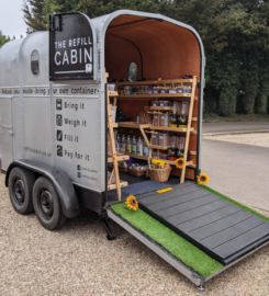 Refill Cabin food and household products